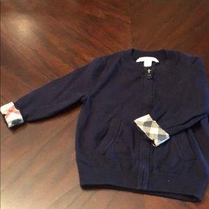 Baby boy Burberry sweater